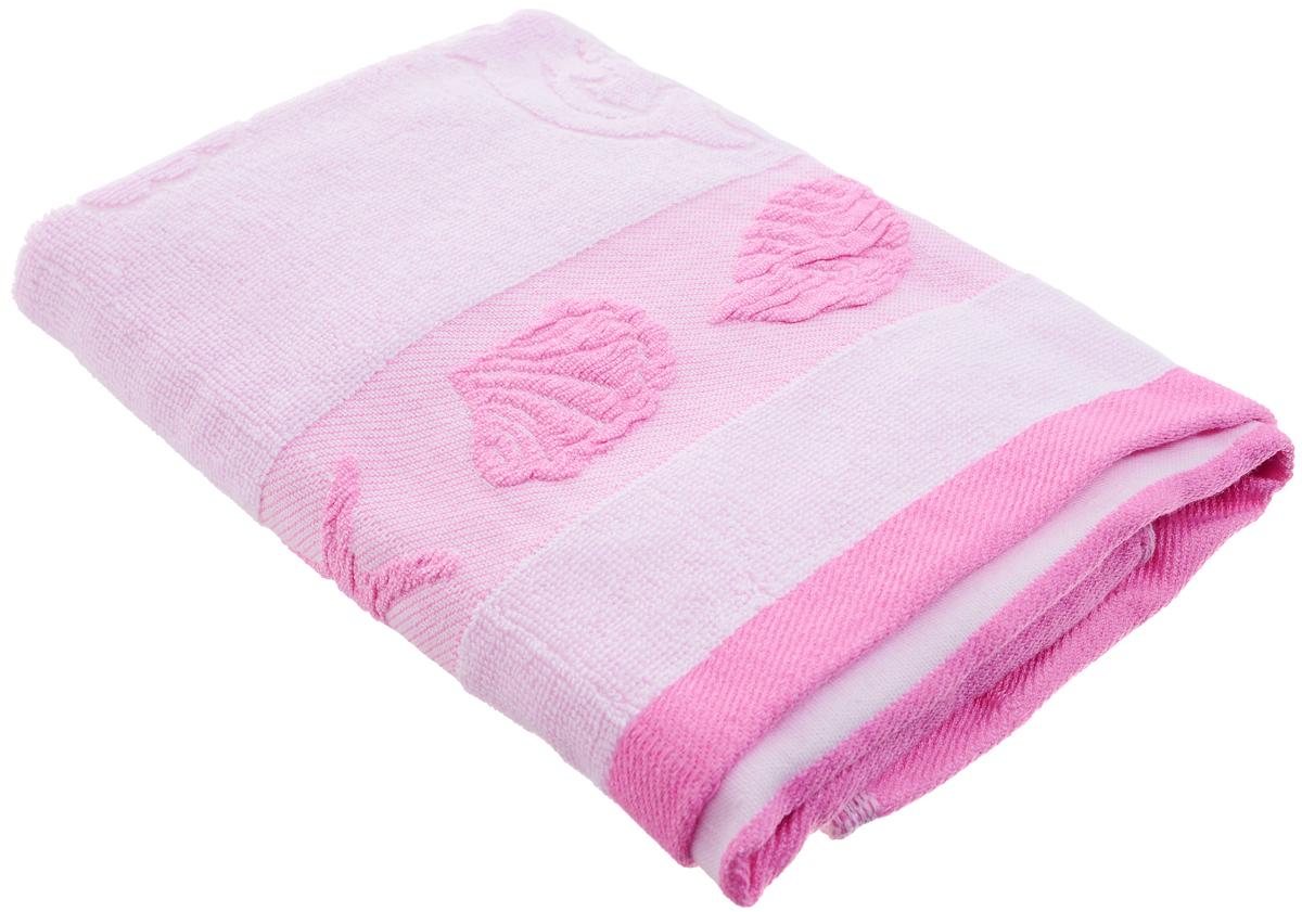 Полотенце Arya Marito, цвет: розовый, сиреневый, 50 х 100 смF0003442_розовый, сиреневыйПолотенце Arya Marito выполнено из 100% хлопка. Изделие отлично впитывает влагу, быстро сохнет, сохраняет яркость цвета и не теряет форму даже после многократных стирок. Такое полотенце очень практично и неприхотливо в уходе. Оно создаст прекрасное настроение и украсит интерьер в ванной комнате.