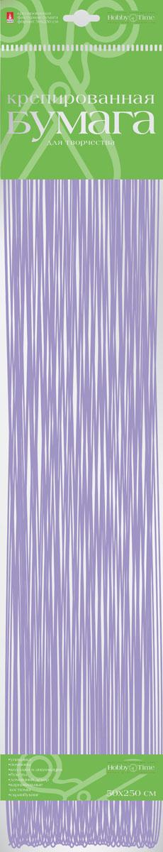 Альт Бумага креповая Перламутровая цвет сиреневый2-062/04Креповая бумага Альт Перламутровая - подходящий материал для декора, объемных украшений и игрушек. Гофрированная жатая поверхность обеспечивает особую пластичность. Бумага не деформируется, сохраняет заданную форму, отлично сочетается с текстильными лентами, декоративными элементами. Размер листа: 50 см х 250 см.