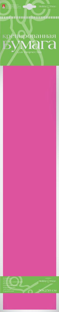 Альт Бумага креповая цвет розовый2-060/11Креповая бумага Альт - подходящий материал для декора, объемных украшений и игрушек. Гофрированная жатая поверхность обеспечивает особую пластичность. Бумага не деформируется, сохраняет заданную форму, отлично сочетается с текстильными лентами, декоративными элементами. Размер листа: 50 см х 250 см.