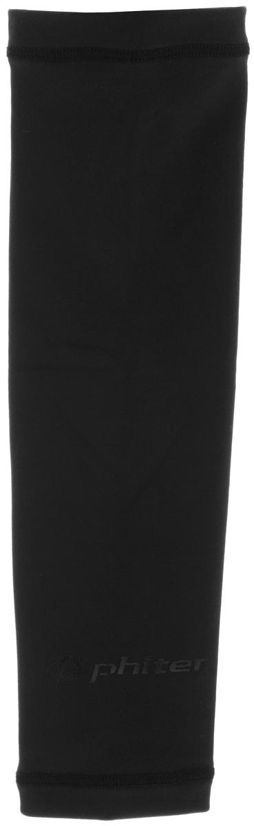 Рукав силовой Phiten X30, цвет: черный. Размер S (19-25 см). SL523003AIRWHEEL M3-162.8Силовой рукав Phiten X30, выполненный из 85% полиэстера и 15% полиуретана, идеально подходит для поддержки и увеличения силы мышц (плеча/предплечия) спортсменов. Рукав снимает мышечное напряжение, повышает выносливость и силу мышц. Он мягко фиксирует суставы, но при этом абсолютно не стесняет движения.Пропитка Aqua Titan с фактором X30 увеличивает эластичность мышц и связок, а также хорошо поглощает и испарять пот, что позволяет продлить ощущение комфорта при тренировках.Изделие специально разработано таким образом, чтобы соответствовать форме руки и обеспечить плотное прилегание, а благодаря инновационным материалам, рукав действительно поможет вам в процессе тяжелой тренировки или любой серьезной нагрузки.Силовой рукав Phiten X30 способствует:- улучшению циркуляции крови в организме;- разгрузке поврежденного сустава; - уменьшению усталости;- снятию излишнего напряжения и скорейшему восстановлению сил;- обеспечивает компрессионный эффект.