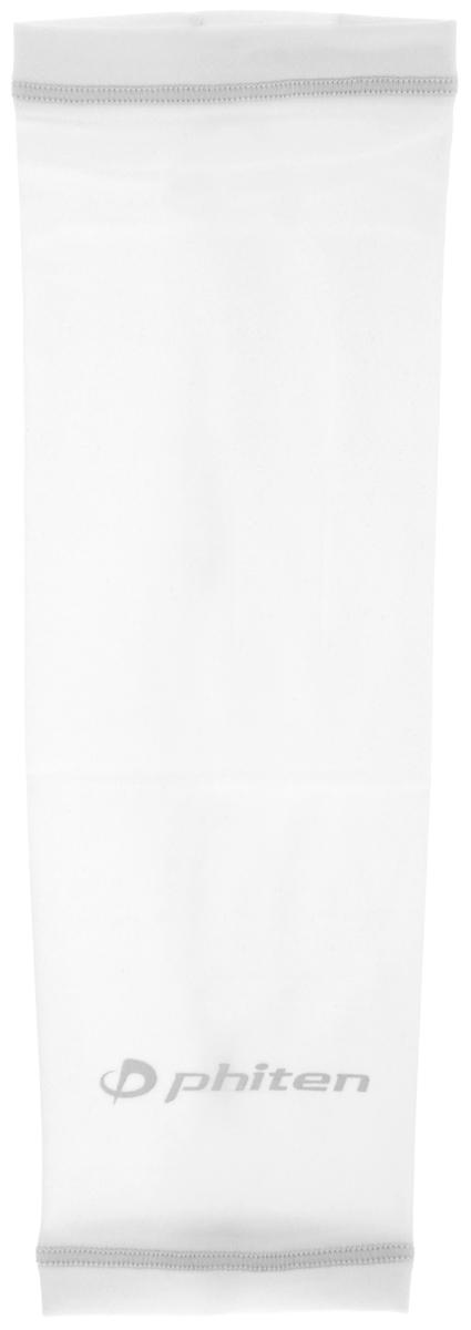 Рукав силовой Phiten X30, цвет: белый, серый. Размер М (23-29 см). SL523204SL523204Силовой рукав Phiten X30, выполненный из 85% полиэстера и 15% полиуретана, идеально подходит для поддержки и увеличения силы мышц (плеча/предплечия) спортсменов. Рукав снимает мышечное напряжение, повышает выносливость и силу мышц. Он мягко фиксирует суставы, но при этом абсолютно не стесняет движения. Пропитка Aqua Titan с фактором X30 увеличивает эластичность мышц и связок, а также хорошо поглощает и испарять пот, что позволяет продлить ощущение комфорта при тренировках. Изделие специально разработано таким образом, чтобы соответствовать форме руки и обеспечить плотное прилегание, а благодаря инновационным материалам, рукав действительно поможет вам в процессе тяжелой тренировки или любой серьезной нагрузки. Силовой рукав Phiten X30 способствует: - улучшению циркуляции крови в организме; - разгрузке поврежденного сустава; - уменьшению усталости; - снятию излишнего напряжения и скорейшему ...