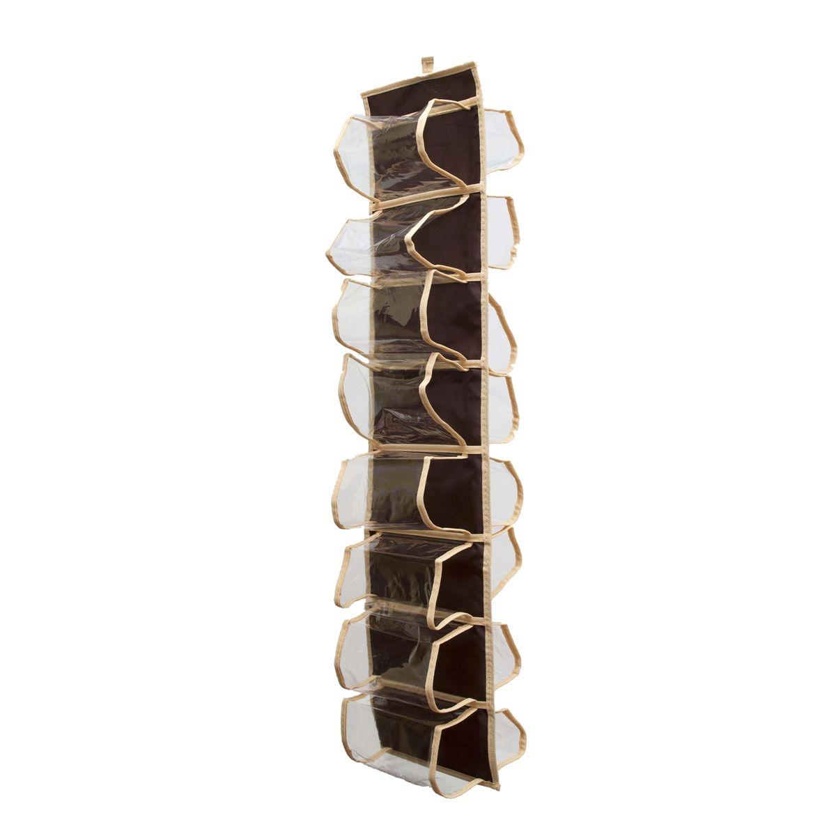 Органайзер Homsu Costa-Rica для колготок, шарфов и мелочей, 20 х 80 смHOM-42Подвесной двусторонний органайзер с 16 раздельными ячейками 8 см на 15 см очень удобен для хранения мелких вещей в вашем шкафу. Идеально для колготок, шарфов, мелочей и других вещей ежедневного пользования. Фактический цвет может отличаться от заявленного.