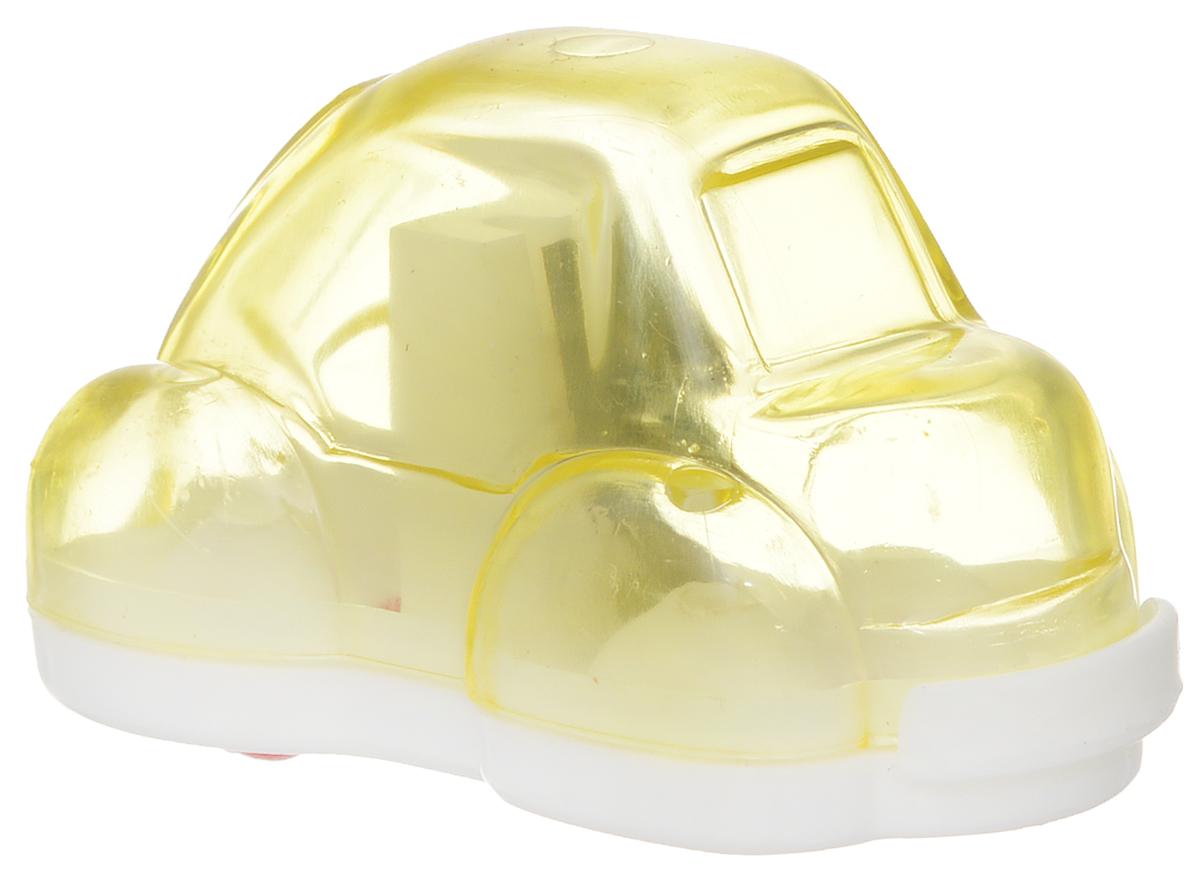 Action! Точилка Авто цвет желтыйFSH370_желтыйТочилка Action! Авто предназначена для заточки чернографитных и цветных карандашей. Точилка изготовленная из пластика, с одним отверстием и контейнером. Полупрозрачный контейнер для сбора стружки повышенной вместимости позволяет визуально контролировать уровень заполнения и вовремя производить очистку. Для увеличения срока службы точилки производите ее очистку после каждой заточки карандаша.