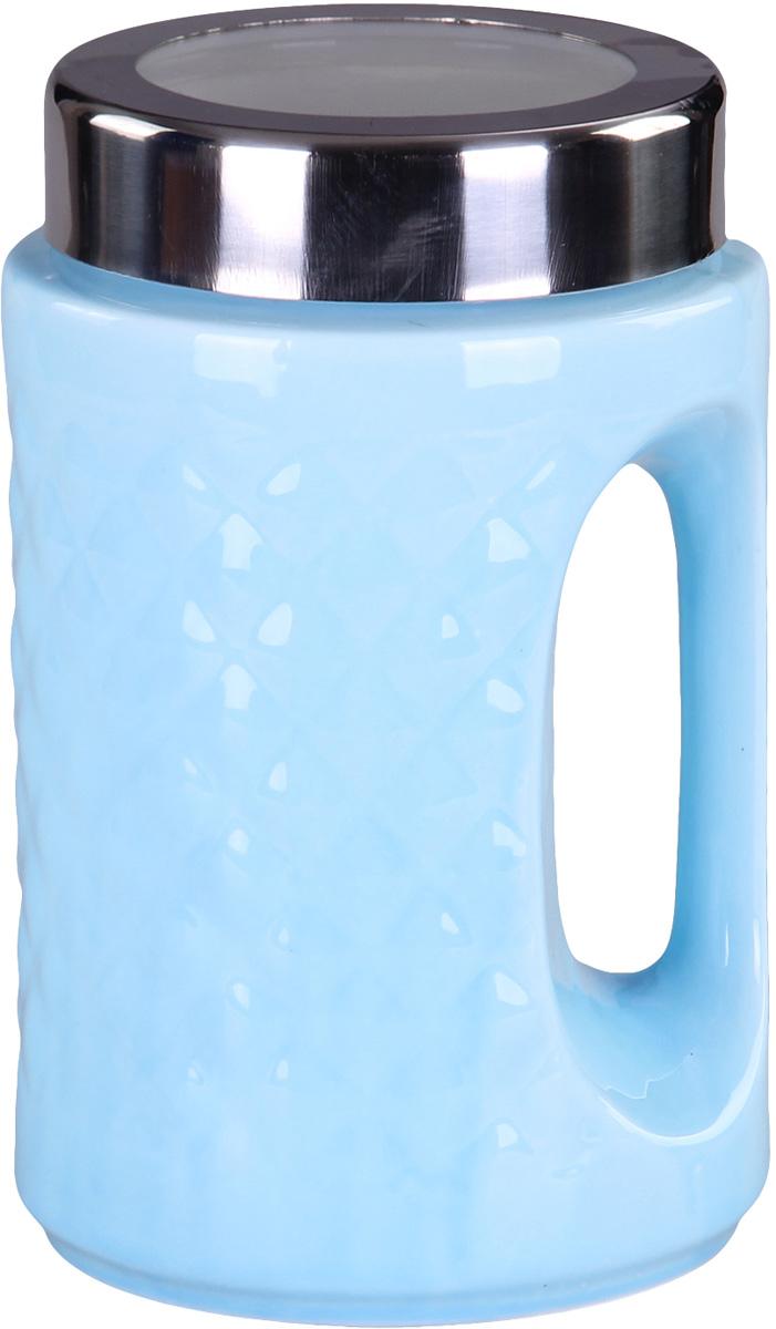 Банка для сыпучих продуктов Patricia. IM99-5237VT-1520(SR)Банка для сыпучих продуктов Patricia с ручкой, выполнена из керамики высокого качества. В ней можно хранить как соль или сахар, так и различные крупы.