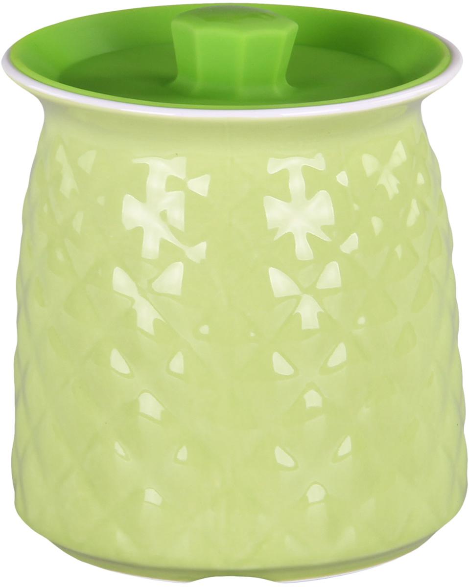 Банка для сыпучих продуктов Patricia. IM99-5253VT-1520(SR)Банкадля сыпучих продуктов Patricia выполнена из керамики высокого качества. В ней можно хранить как соль или сахар, так и различные крупы.