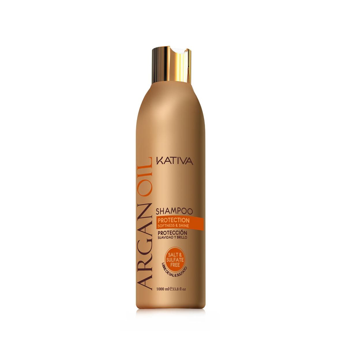 Kativa ARGANA Увлажняющий шампунь с маслом Арганы 250 мл kativa интенсивный восстанавливающий увлажняющий уход для волос с маслом арганы kativa argana 65807243 500 мл