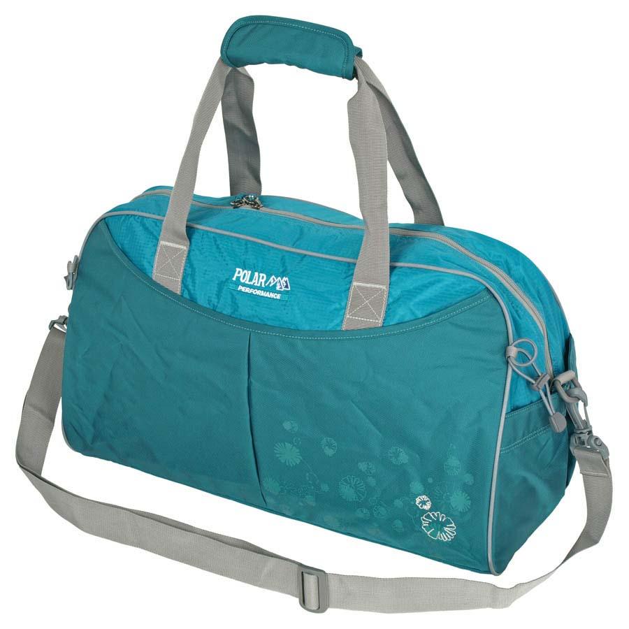 Сумка спортивная Polar, 36 л, цвет: бирюзовый. П2053-08 khakiП2053-08Спортивная сумка Polar. Одно основное отделение. Внутри карман на молнии, открытый кармашек на липучке, держатель для бутылочки с водой. Снаружи- карман на молнии спереди сумки. Имеется плечевой ремень.