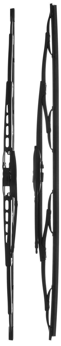 Щетка стеклоочистителя Bosch 609, каркасная, длина 60 см, 2 шт