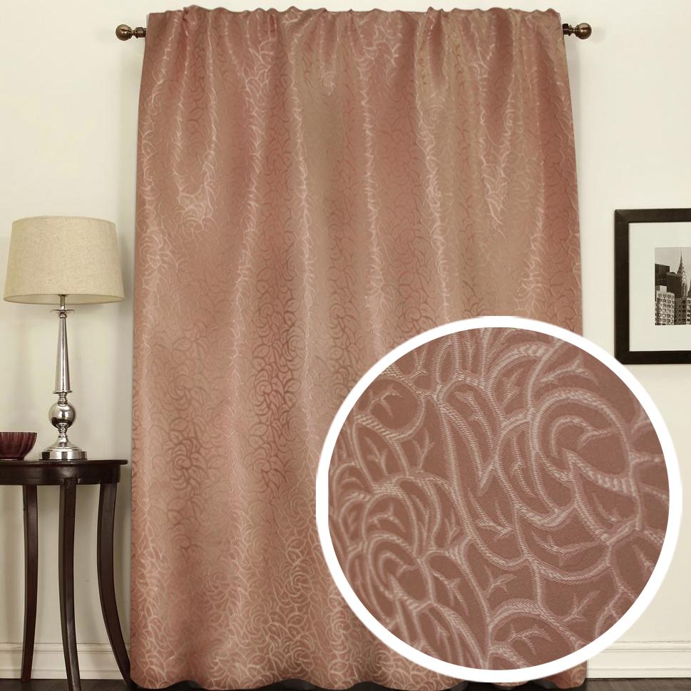Штора Amore Mio Розы, на ленте, цвет: коричневый, высота 270 см75320Штора Amore Mio как будто состоит из множества роз. Изысканный рисунок в сочетании с благородный цветом украсит любое окно. Изделие изготовлено из 100% полиэстера. Полиэстер - вид ткани, состоящий из полиэфирных волокон. Ткани из полиэстера легкие, прочные и износостойкие. Такие изделия не требуют специального ухода, не пылятся и почти не мнутся. Крепление к карнизу осуществляется при помощи вшитой шторной ленты.