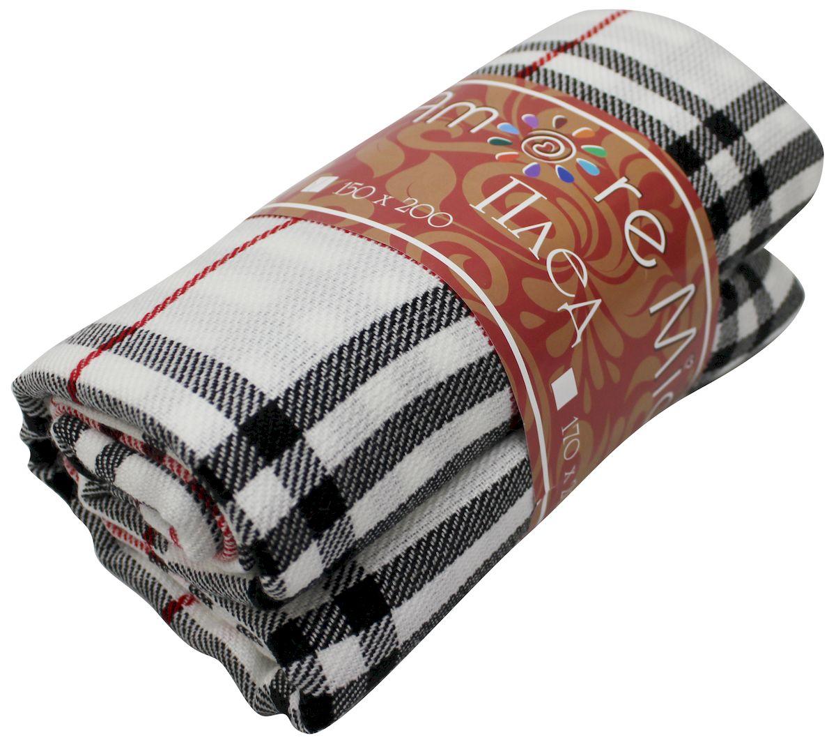 Плед Amore Mio Delicacy, 170 х 200 см78892Мягкий, теплый и уютный плед с кистями Amore Mio Delicacy изготовлен из 100% акрила. Не зря в народе за акрилом закрепилось имя искусственной шерсти. Акриловое волокно великолепно удерживает тепло, оно практично и долговечно. Еще одно преимущество - в цене, так как по факту акрил значительно дешевле натуральной шерсти.