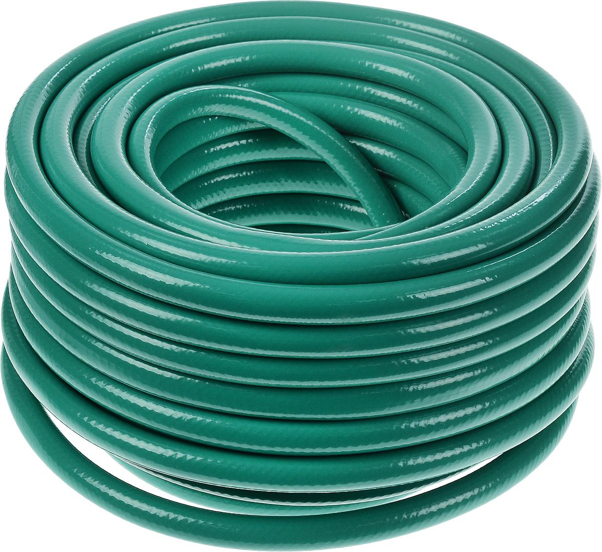 Шланг Fitt Agrifort, пятислойный, диаметр 1,25 см, длина 25 м3747668_зеленыйПятислойный армированный шланг Fitt Agrifort предназначен для сельскохозяйственных и строительных работ. Внешний слой изготовлен из непрозрачного ПВХ, который препятствует образованию микроорганизмов и плесени внутри шланга, и отличается стойкостью к УФ-лучам. Длина шланга: 25 м. Внутренний диаметр шланга: 12,5 мм. Толщина стенки шланга: 2 мм. Максимальное рабочее давление: 12 бар. Срок службы:12 лет.