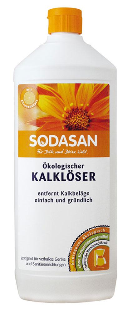 Средство для удаления известкового налета Sodasan, 1 л1750Средство для удаления известкового налета Sodasan разработано для интенсивной уборки на кухне или ванной. Эффективно удаляет известковый налет, следы воды и мыла, жирные загрязнения с плитки и сантехники. Поглощает неприятные запахи. Особенно хорошо подходит для жесткой воды. Нейтрализует остатки моющих средств, обладает дезинфицирующими свойствами. Состав: вода 30%, лимонная кислота 15-30%. Характеристики: Объем: 1 л. Артикул: 1750. Товар сертифицирован. УВАЖАЕМЫЕ КЛИЕНТЫ! Обращаем ваше внимание на возможные изменения в дизайне упаковки. Поставка осуществляется в зависимости от наличия на складе.