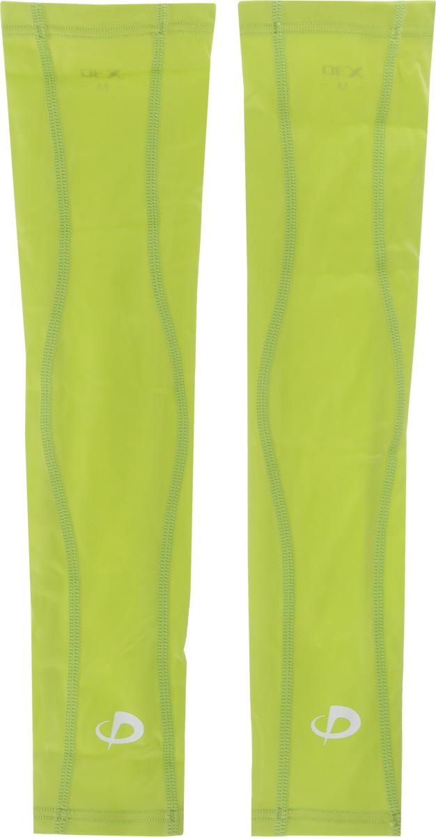Рукав силовой Phiten X30 Long, цвет: салатовый, 2 шт. Размер L (26-32 см)SL530105Рукав силовой Phiten X30 Long, выполненный из 85% полиэстера и 15% полиуретана, идеально подходит для поддержки и увеличения силы мышц (плеча/предплечья) спортсменов. Рукав снимает мышечное напряжение, повышает выносливость и силу мышц. Он мягко фиксирует суставы, но при этом абсолютно не стесняет движения. Благодаря пропитке из акватитана с фактором X30, рукав увеличивает эластичность мышц и связок, а также хорошо поглощает и испаряет пот, что позволяет продлить ощущение комфорта при тренировках. Изделие специально разработано таким образом, чтобы соответствовать форме руки и обеспечить плотное прилегание, а благодаря инновационным материалам, рукав действительно поможет вам в процессе тяжелой тренировки или любой серьезной нагрузки. Силовой рукав Phiten X30 Long способствует: - улучшению циркуляции крови в организме; - разгрузке поврежденного сустава; - уменьшению усталости; - снятию излишнего напряжения и скорейшему...