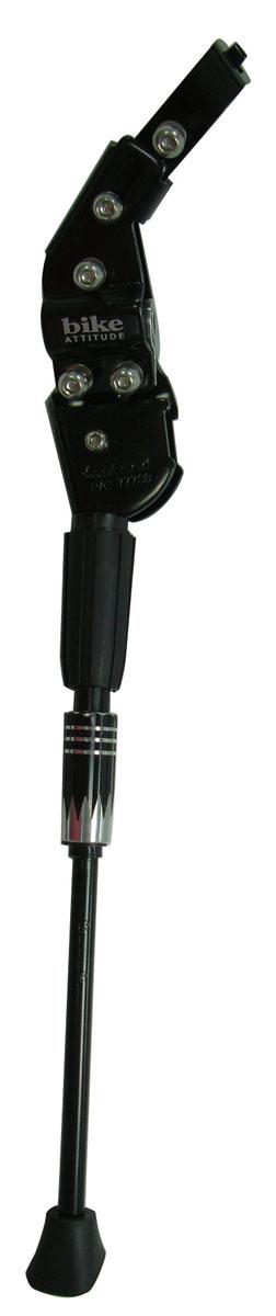 Подножка задняя Bike Attitude, с универсальным креплением, 24-28. DKSR-CD105J-AB02MHDR2G/AПодножка задняя с универсальным креплением размер 24-28,черный
