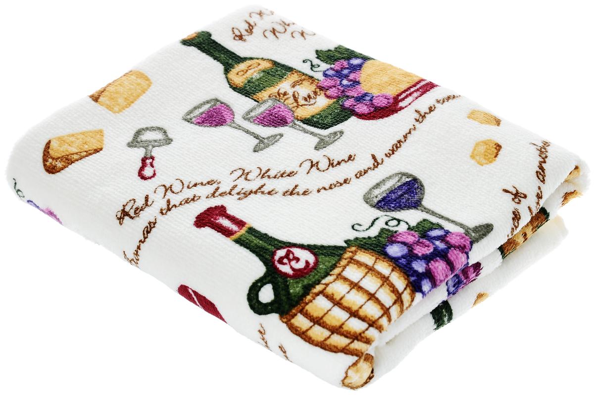 Полотенце кухонное Sunvim Изабелла, 40 х 70 смVT-1520(SR)Кухонное полотенце Sunvim Изабелла, выполненное из 100% хлопка, оформлено ярким рисунком. Изделие предназначено для использования на кухне и в столовой.Такое полотенце станет отличным вариантом для практичной и современной хозяйки.