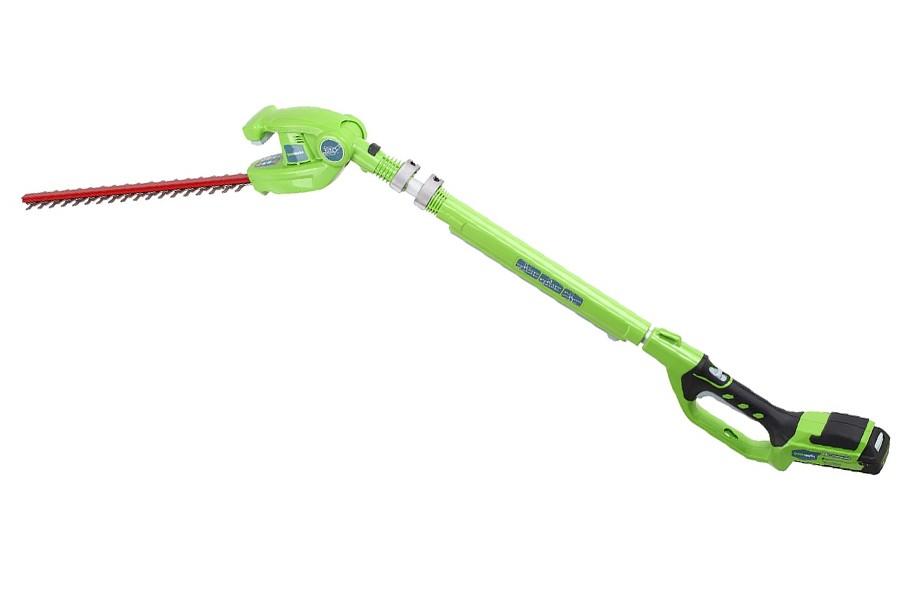 Кусторез удлиненный GreenWorks 24В (без аккумуляторной батареи и зарядного устройства)