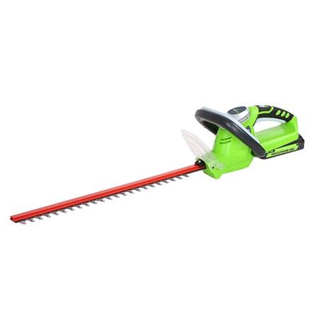 Кусторез GreenWorks 24В (без аккумуляторной батареи и зарядного устройства)