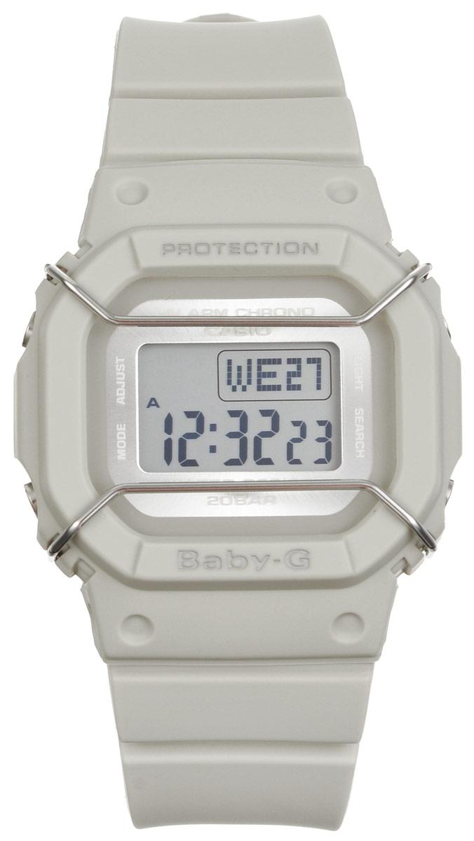 Часы наручные Casio Baby-G, цвет: светло-серый. BGD-501UM-8EBGD-501UM-8EМногофункциональные часы Casio Baby-G, выполнены из минерального стекла и полимерного материала. Часы оформлены символикой бренда. Электронные часы имеют степень влагозащиты равную 20 BAR. Браслет часов оснащен застежкой-пряжкой, которая позволит с легкостью снимать и надевать изделие. Корпус часов оснащен электролюминесцентной подсветкой. Дополнительные функции: таймер, будильник, функция повтора будильника, секундомер, функция мирового времени, автоматический календарь. Часы поставляются в фирменной упаковке. Многофункциональные часы Casio Baby-G станут незаменимым аксессуаром.