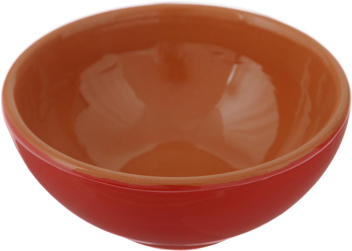 Розетка для варенья Борисовская керамика Красный, 200 млКРС00000512_красныйРозетка для варенья Борисовская керамика Красный изготовлена из глины. Изделие отлично подойдет для подачи на стол меда, варенья, соуса, сметаны и многого другого. Такая розетка украсит ваш праздничный или обеденный стол, а яркое оформление понравится любой хозяйке. Можно использовать в духовке и микроволновой печи. Диаметр (по верхнему краю): 10 см. Высота: 4 см. Объем: 200 мл.