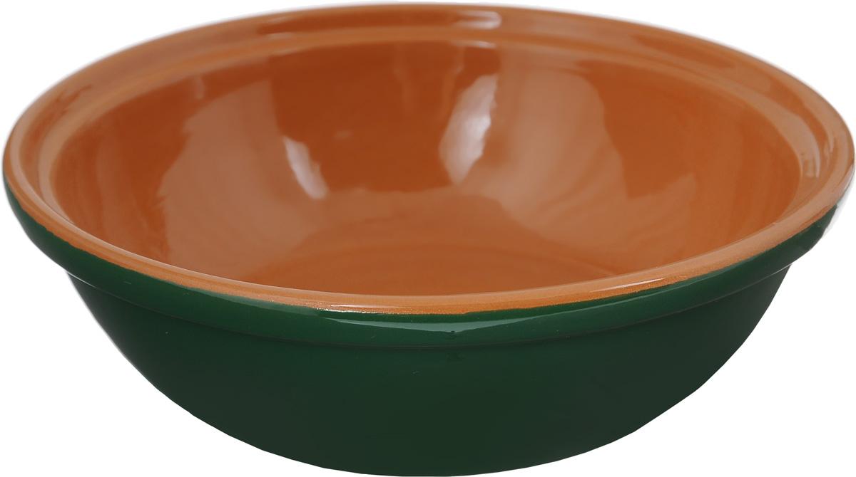 Салатник Борисовская керамика Модерн, цвет: зеленый, коричневый, 500 мл115610Салатник Борисовская керамика Модерн выполнен из высококачественной керамики. Он придется по вкусу каждому и порадует вас и ваших близких. Салатник Борисовская керамика Модерн идеально подойдет для сервировкистола и станет отличным подарком к любому празднику.Можно использовать в духовке и микроволновой печи. Диаметр (по верхнему краю): 17,5 см.Высота: 5,5 см.Объем: 500 мл.