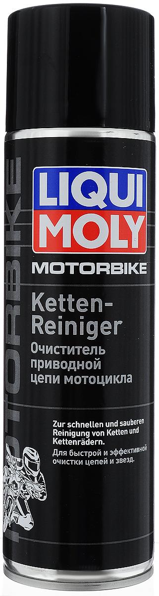 Очиститель приводной цепи мотоцикла Liqui Moly, 500 мл7625Очиститель приводной цепи мотоцикла Liqui Moly на основе высокоэффективной комбинации растворителей обеспечивает быструю и эффективную очистку и обезжиривание различных конструкционных элементов двухколесных транспортных средств. Очиститель специально разработан для очистки цепей мотоциклов, велосипедов, мотороллеров и мопедов. Подходит для очистки цепей с кольцеобразными звеньями, для цепей с сальниками круглого и х-образного сечения, а также без сальников. Состав: легкий легроин, пропелент: диоксил углерода, более 30% алифатических углеводородов. пропеллент. Не содержит озоноразрушающих веществ. Товар сертифицирован.