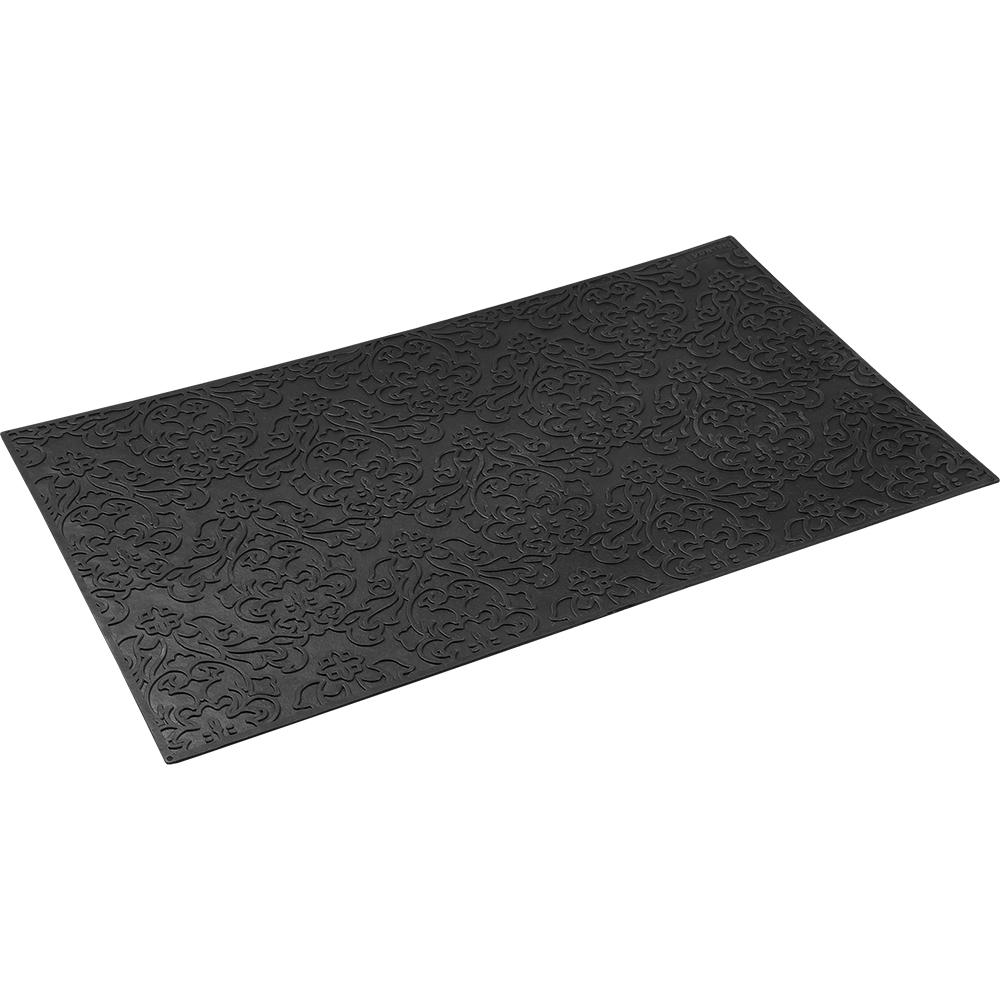 Коврик придверный Vortex Узор, 35х60 см, цвет: черный22461