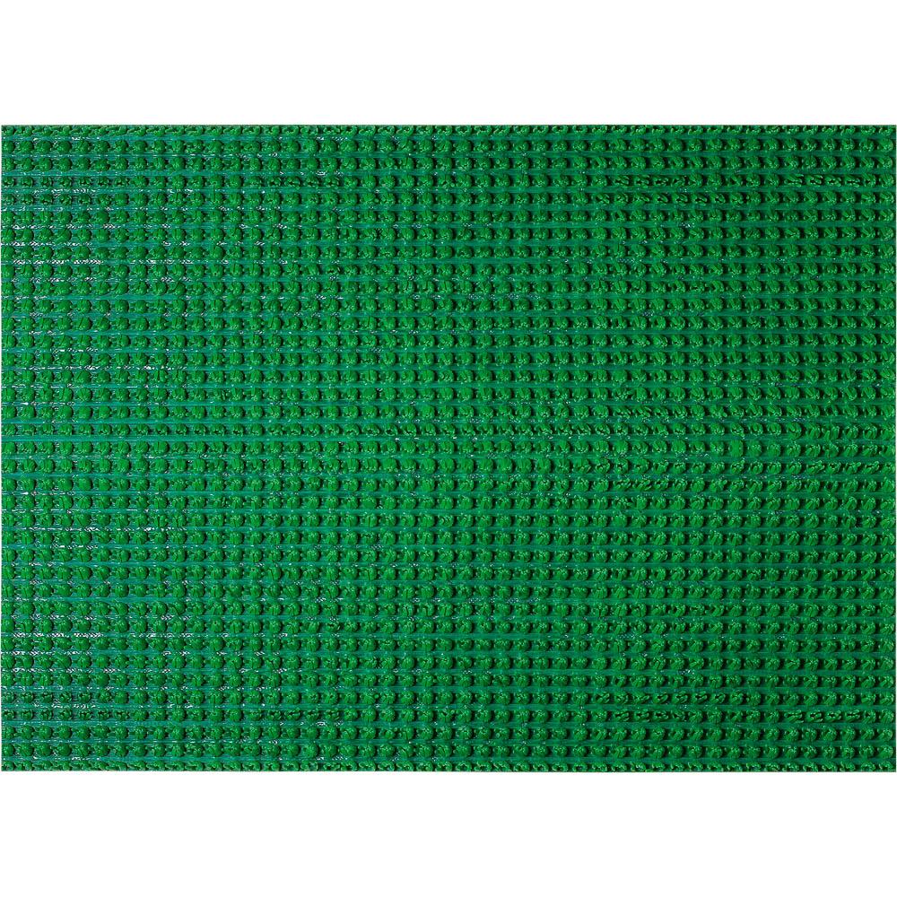 Коврик Травка, на противоскользящей основе, 45х60 см, цвет: зеленый24100
