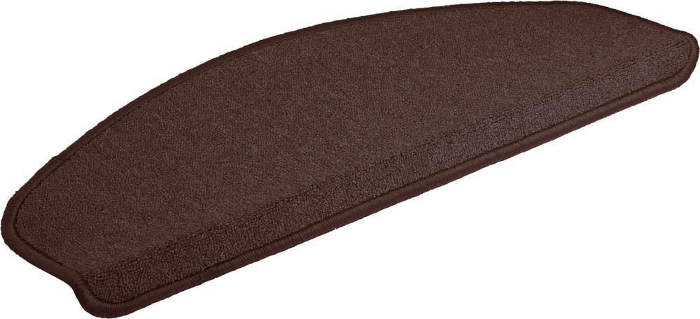 Коврик Vortex, на ступеньку, цвет: темно-коричневый, 25 х 65 см27002Ворс коврика Vortex изготовлен из 100% полипропилена. Коврик оснащен выполненной из латекса подложкой, которая препятствует скольжению. Коврик Vortex гармонично впишется в интерьер вашего дома и создаст атмосферу уюта и комфорта. Изделие отлично подойдет как для использования в доме, так и снаружи.