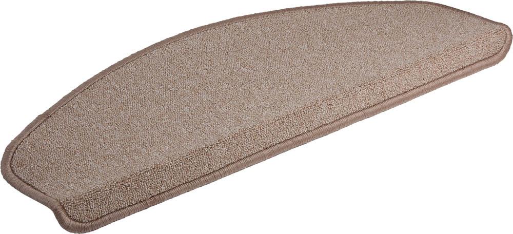 Коврик на ступеньку Vortex, 25х65 см, цвет: бежевый27003Ворс - 100% Полипропилен. Подложка - 100% латекс.