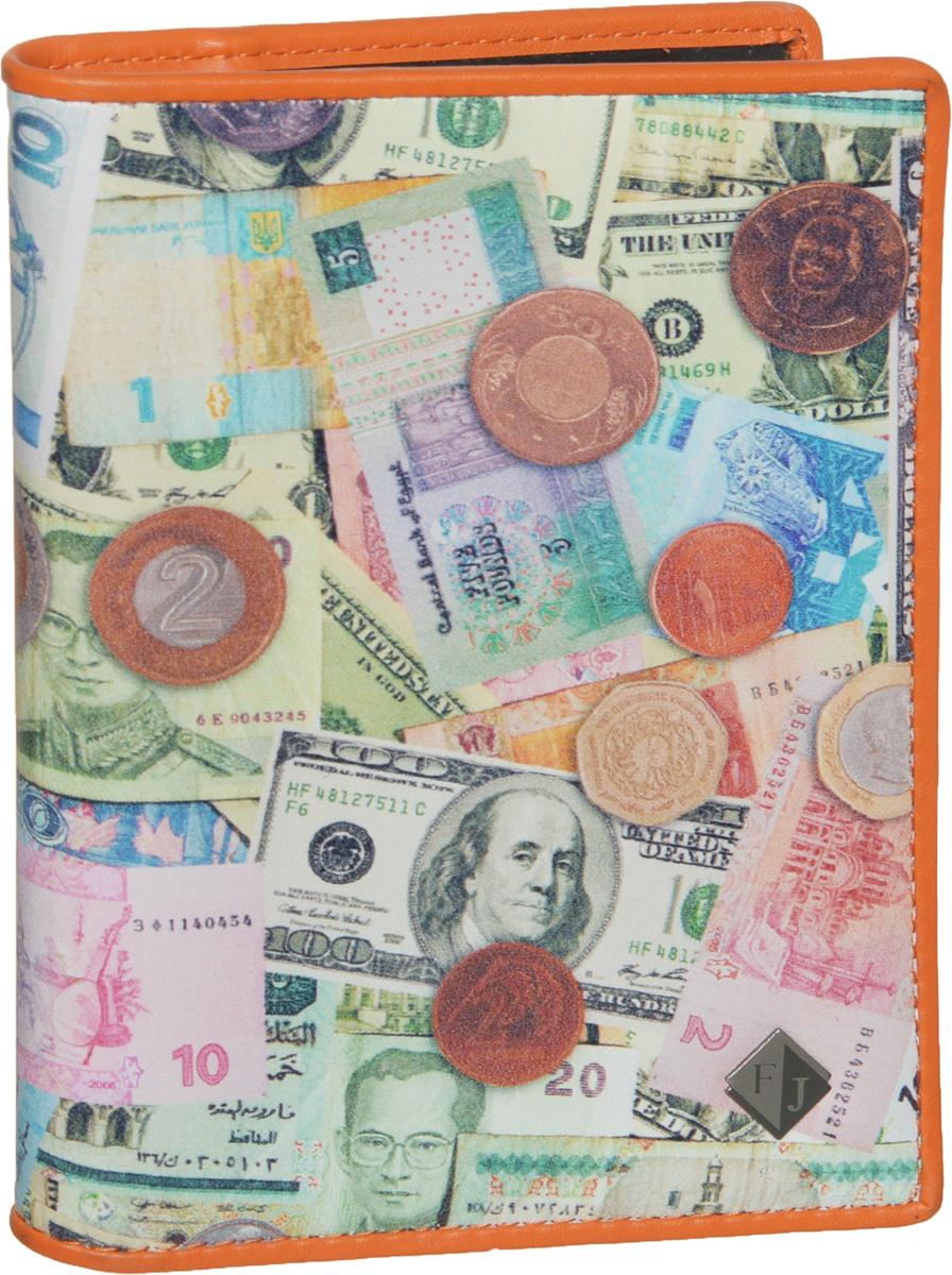 Обложка для автодокументов Flioraj, цвет: мультиколор. 136-Money136-MoneyСтильная и функциональная обложка для автодокументов Flioraj не только поможет сохранить внешний вид ваших документов, но и станет стильным аксессуаром, идеально подходящим вашему образу. Обложка изготовлена из качественной натуральной кожи, оформлена оригинальным принтом с изображением различных денежных банкнот и монет, а также дополнена металлическим элементом с логотипом бренда. Изделие выполнено с подкладкой из полиэстера. Обложка раскладывается пополам, содержит два боковых открытых кармана и съемный пластиковый блок с шестью файлами, позволяющий рационально разместить все необходимые документы, в том числе страховку. Изделие поставляется в фирменной упаковке, дополнительно прилагается текстильный чехол для хранения. Оригинальная обложка для автодокументов станет отличным подарком для человека, ценящего качественные и практичные вещи.