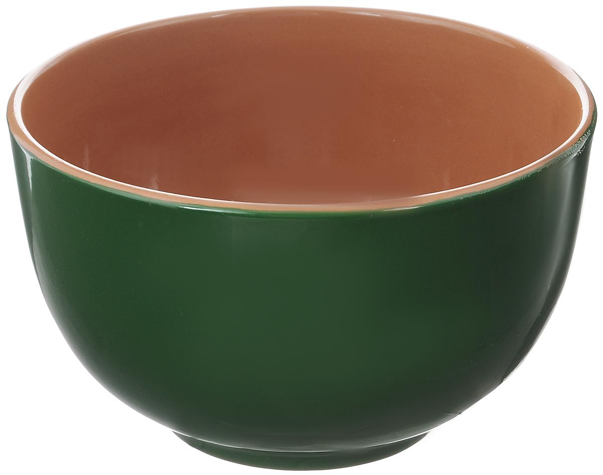 Салатник Борисовская керамика Радуга, цвет: зеленый, коричневый, 2 л115610Салатник Борисовская керамика Радуга выполнен из высококачественной глазурованной керамики. Этот большой и вместительный салатник необходим на любом застолье, он идеально подходит для сервировки салатов и закусок. Изделие термостойкое, поэтому его можно использовать для запекания в духовке и микроволновой печи, с последующим хранением в нем приготовленной пищи. Такой яркий салатник отлично дополнит сервировку стола и подчеркнет ваш изысканный вкус.Диаметр (по верхнему краю): 20 см.Высота стенки: 12 см.