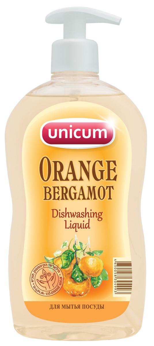 Средство для мытья посуды Unicum Апельсин-бергамот, 550 мл790009Средство для мытья посуды Unicum Апельсин-бергамот - высококонцентрированное современное средство для ручного мытья всех видов посуды и изделий из водостойких материалов. Средство легко удаляет остатки жиров, соусов, кремов, присохших частиц пищи, в то же время бережно относится к коже рук. Благодаря наличию активных наночастиц, средство прекрасно смывается со всех видов посуды даже холодной и жесткой водой.