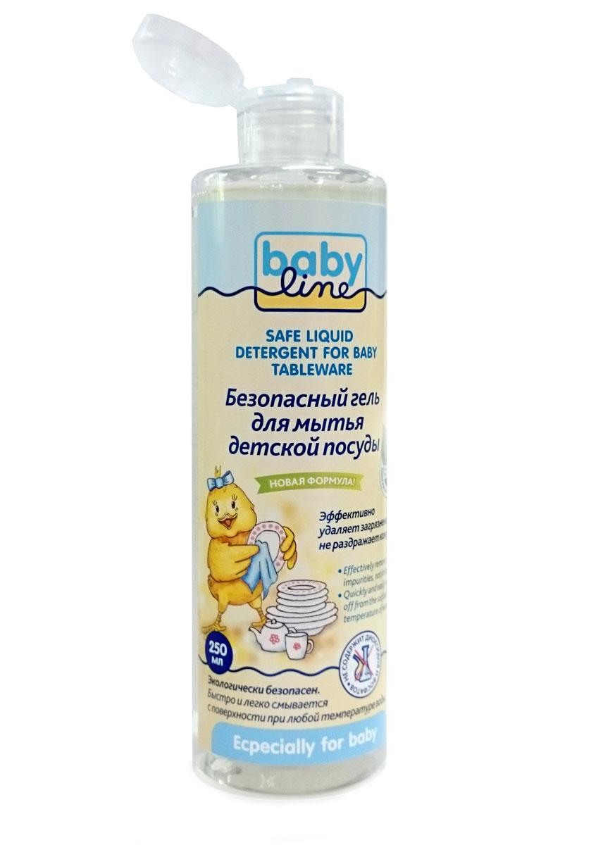 BabyLine Безопасный гель для мытья детской посуды 250 млDB044Натуральная формула моющего средства на травяной основе позволяет бороться с различными бактериями без вреда для детей. Возможно использование для мытья как детской посуды, так и овощей и фруктов. Экологически чистый продукт. Не содержит фосфатов Можно применять с первых дней жизни! Товар сертифицирован.