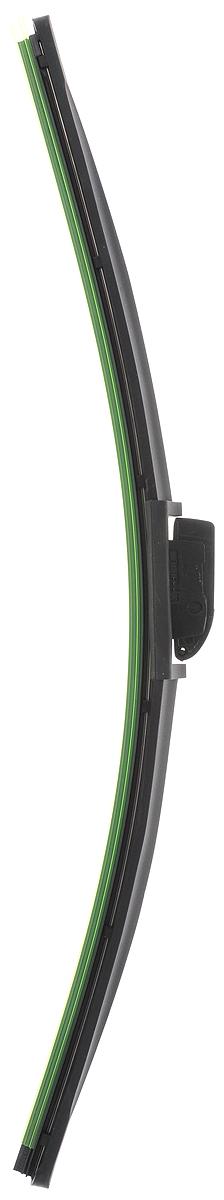 Щетка стеклоочистителя Wonderful, бескаркасная, с тефлоном, с 10 адаптерами, длина 47,5 см, 1 шт901923Бескаркасная универсальная щетка Wonderful, выполненная по современной технологии из высококачественных материалов, предназначена для установки на переднее стекло автомобиля. Направляющая шина, расположенная внутри чистящего полотна, равномерно распределяет прижимное усилие по всей длине, точно повторяя рельеф щетки, что обеспечивает наиболее полное очищение стекла за один проход. Отличается высоким качеством исполнения и оптимально подходит для замены оригинальных щеток, установленных на конвейере. Обеспечивает качественную очистку стекла в любую погоду. Изделие оснащено 10 адаптерами, которые превосходно подходят для наиболее распространенных типов креплений. Простой и быстрый монтаж.