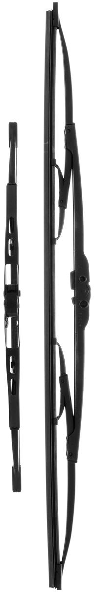 Щетка стеклоочистителя Bosch 553, каркасная, длина 55/34 см, 2 шт3397010274Комплект Bosch 553 состоит из двух щеток разной длины, выполненных по современной технологии из высококачественных материалов. Они обеспечивают идеальную очистку стекла в любую погоду. TWIN - серия классических каркасных щеток от компании Bosch. Эти щетки имеют полностью металлический каркас с двойной защитой от коррозии и сверхточный профиль резинового элемента с двумя чистящими кромками. Комплектация: 2 шт.