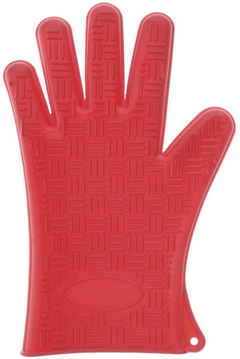 Прихватка-перчатка Mayer & Boch, силиконовая, цвет: красный, 26,5 х 17 см22082_красныйНеобыкновенно яркая и практичная прихватка-перчатка Mayer & Boch выполнена из мягкого и прочного силикона. Очень приятная на ощупь, невероятно гибкая, выдерживает большой перепад температур от -60°C до +230°С. Удобно и прочно сидит на руке. С помощью такой прихватки ваши руки будут защищены от ожогов, когда вы будете ставить в печь или доставать из нее выпечку.