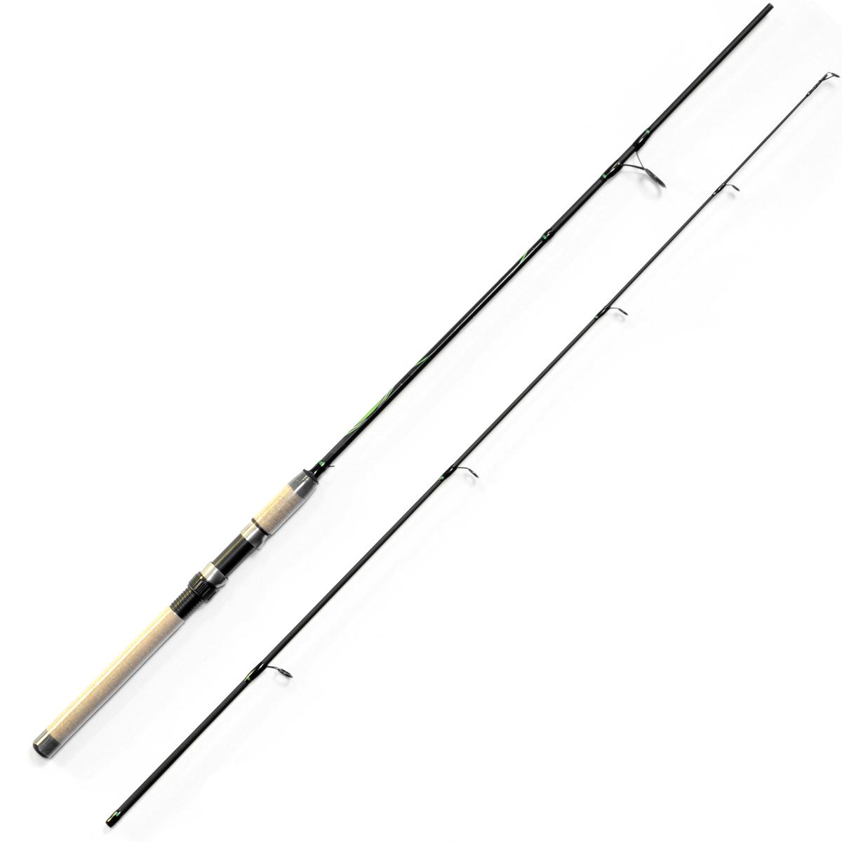 Спиннинг Salmo Sniper ULTRA SPIN 25 2.40, длина 2,4м, 5-25г06/5/07Универсальный спиннинг среднего строя из композита. Бланк имеет классическую расстановку колец со вставками SIC на одной ножке крепления, а самое большое – на двух, стык колен спиннинга произведен по типу OVER STEEK. Ручка имеет классический катушкодержатель с нижней гайкой крепления и пластиковый наконечник на торце.- Материал бланка удилища – композит- Строй бланка средний- Класс спиннинга M- Конструкция штекерная- Соединение колен типа OVER STEEK- Кольца пропускные:– усиленные– со вставками SIC– с расстановкой по классической концепции- Рукоятка: пробковая- Катушкодержатель:– винтового типа- Проволочная петля для закрепления приманок