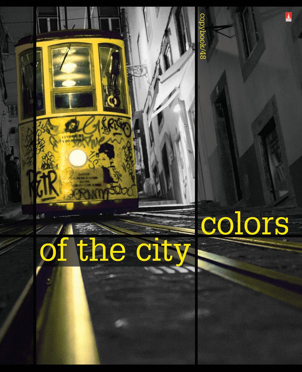 Альт Тетрадь Города Контрасты New 48 листов в клетку цвет желтый7-48-182Тетрадь Альт Города. Контрасты New подойдет студенту и школьнику. Всех любителей путешествий и больших городов порадует новая серия Города. Контрасты New. Обложка тетради выполнена из плотного картона. Для создания визуально объемного, живого изображения использован эффект иридиум - печать на фольгированной обложке. Стремительный ритм жизни в мегаполисах запечатлен в кадрах городской романтики. Серия Города. Контрасты New станет мини-экскурсом в мир ночных столиц, которые легко узнать по знаковым символам. Внутренний блок тетради состоит из 48 листов белой бумаги, соединенных двумя металлическими скрепками. Стандартная линовка в клетку голубого цвета дополнена полями.