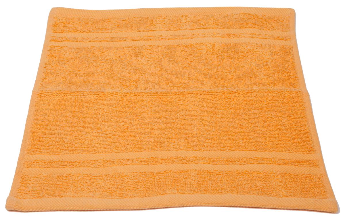 Полотенце махровое Arloni Marvel, цвет: оранжевый, 33 х 33 см. 4403144031Полотенце Arloni Marvel, выполненное из натурального хлопка, подарит вам мягкость и необыкновенный комфорт в использовании. Ткань не вызывает аллергических реакций, обладает высокой гигроскопичностью и воздухопроницаемостью. Полотенце великолепно впитывает влагу, нежное на ощупь не теряет своих свойств после многократной стирки.