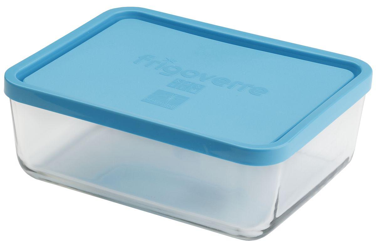 Контейнер Bormioli Rocco Frigoverre, прямоугольный, цвет крышки: синий, 3000 млB335150-1Bormioli Rocco Стеклянный герметичный контейнер для хранения пищи Frigoverre с синей крышкой прямоугольный 26х21 см, 3000 мл. Из холодильника сразу в микроволновую печь! Выдерживают температурный удар от – 20С до +70С. Безопасны для хранения готовых продуктов. Не содержат Бисфенол А. BPA Free. Закаленное стекло. В 5 раз повышена ударостойкость. Устойчивы к царапинам и сколам. Удобство использования. Изделия легко моются. Можно использовать в посудомоечной машине. Настоящее итальянское качество!