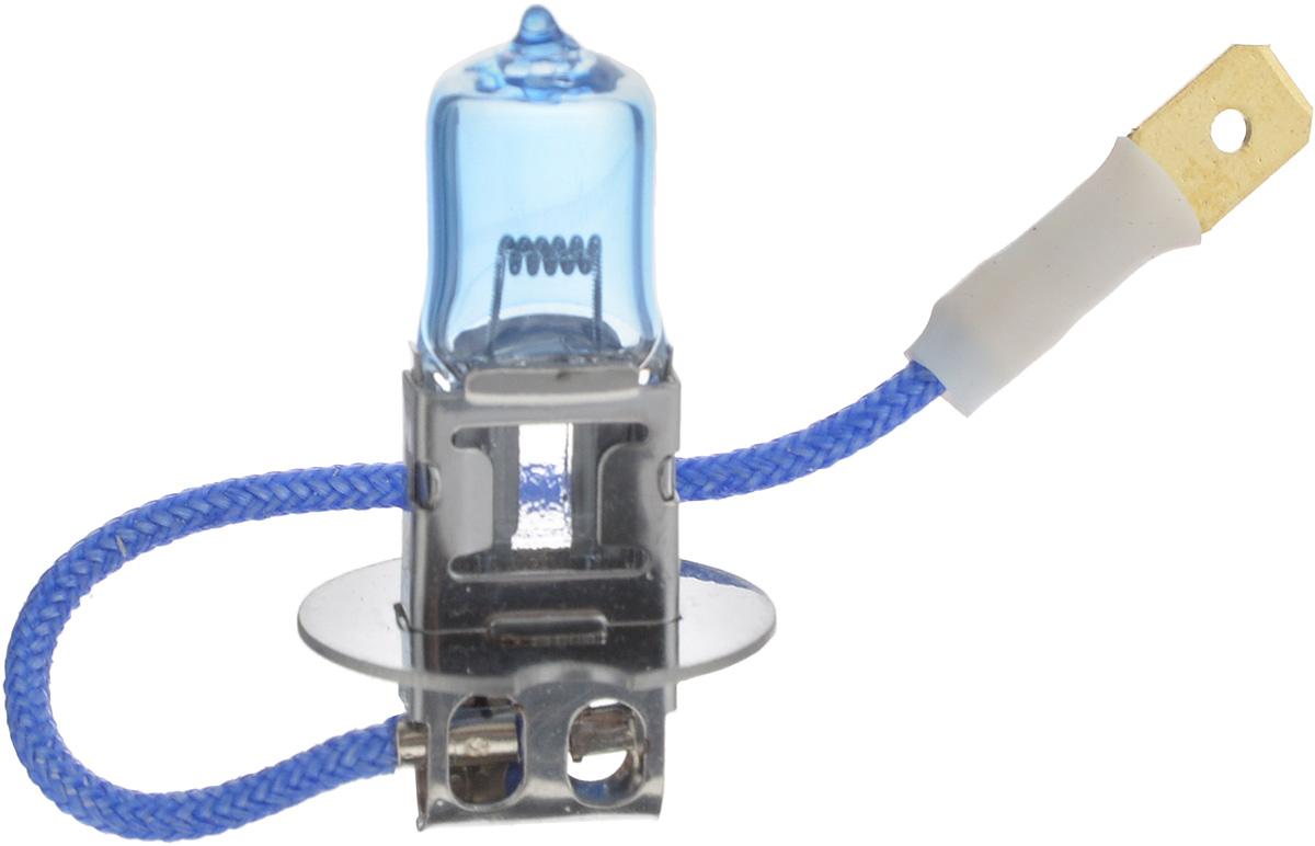 Лампа автомобильная галогенная Nord YADA Super White, цоколь H3, 24V, 70W800073Лампа автомобильная галогенная Nord YADA Super White - это электрическая галогенная лампа с вольфрамовой нитью для автомобилей и других моторных транспортных средств. Галогенные лампы предназначены для использования в фарах ближнего, дальнего света. Лампа имеет голубое напыление на колбе, что дает более белый лунный свет. Данная характеристика помогает лучше освещать дорогу для водителей и делает автомобиль более заметным на трассах.
