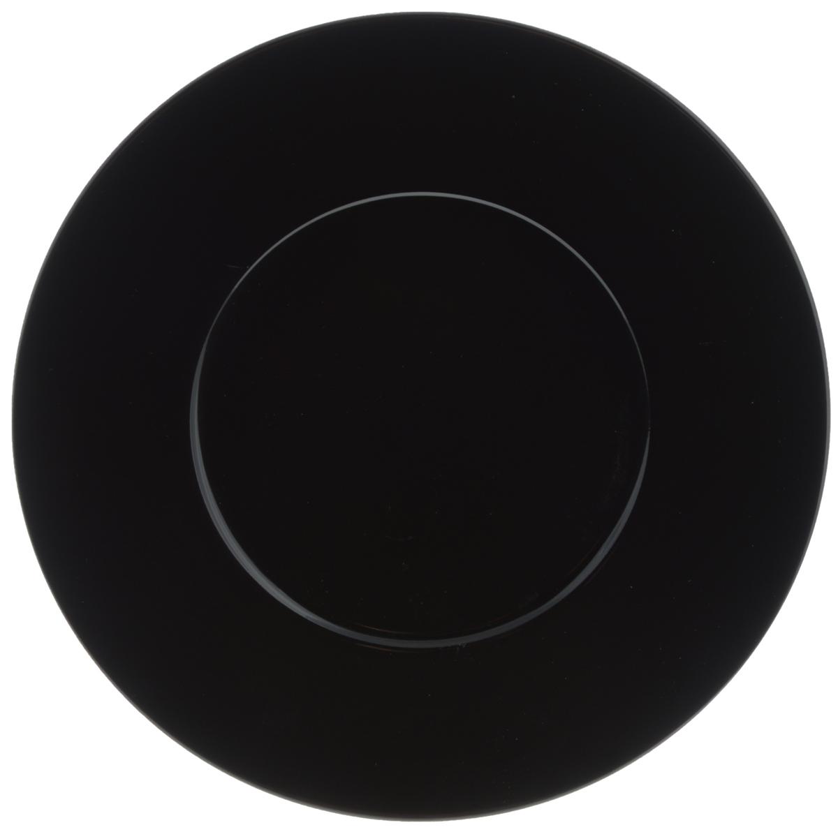Тарелка обеденная Yves De La Rosiere Putoisage, цвет: черный, диаметр 27 см830127 3063Обеденная тарелка Yves De La Rosiere Putoisage, изготовленная из высококачественного фарфора, имеет изысканный внешний вид. Такой дизайн придется по вкусу и ценителям классики, и тем, кто предпочитает утонченность. Тарелка Yves De La Rosiere Putoisage идеально подойдет для сервировки стола и станет отличным подарком к любому празднику.