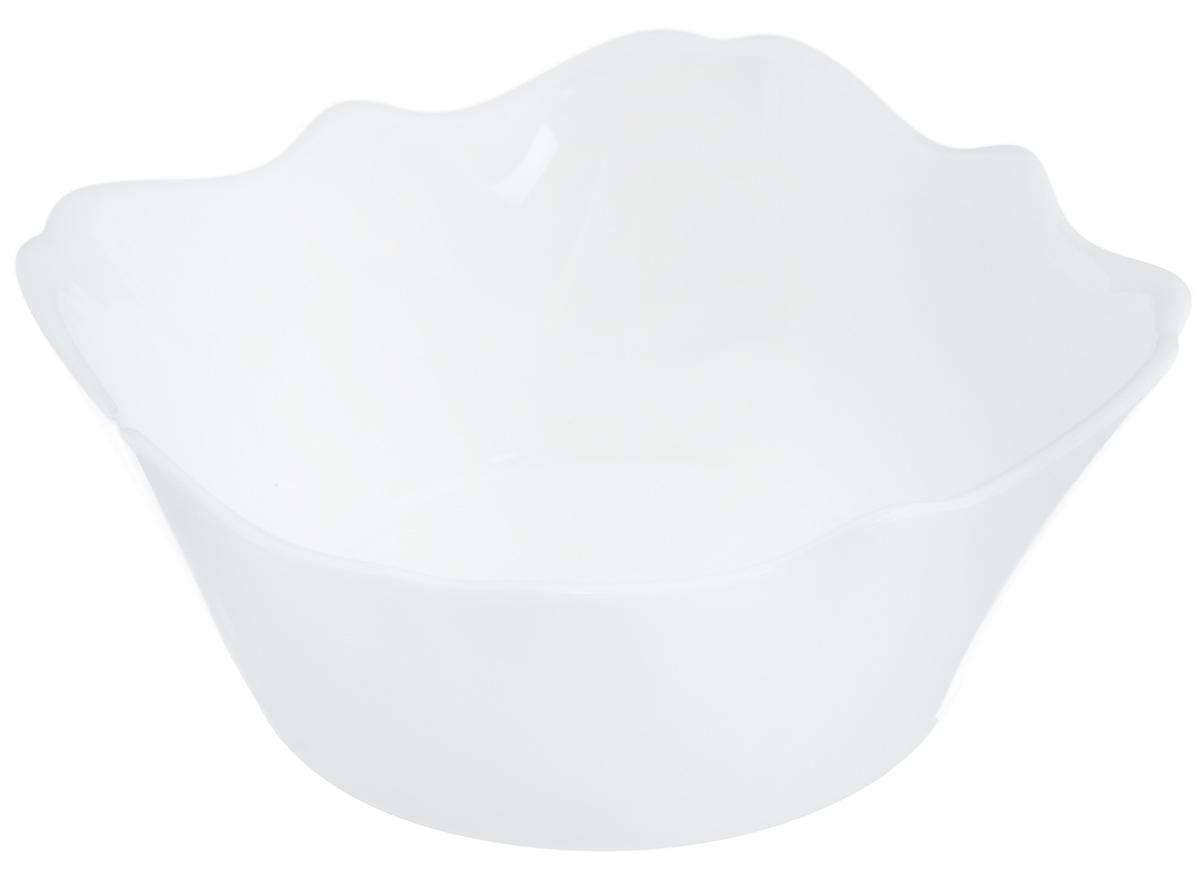 Салатник Luminarc Authentic White, 12 х 12 см115510Салатник Luminarc Authentic White выполнен из ударопрочного стекла. Дизайн придется по вкусу и ценителям классики, и тем, кто предпочитает утонченность и изысканность. Салатник Luminarc Authentic White идеально подойдет для сервировки стола и станет отличным подарком к любому празднику.