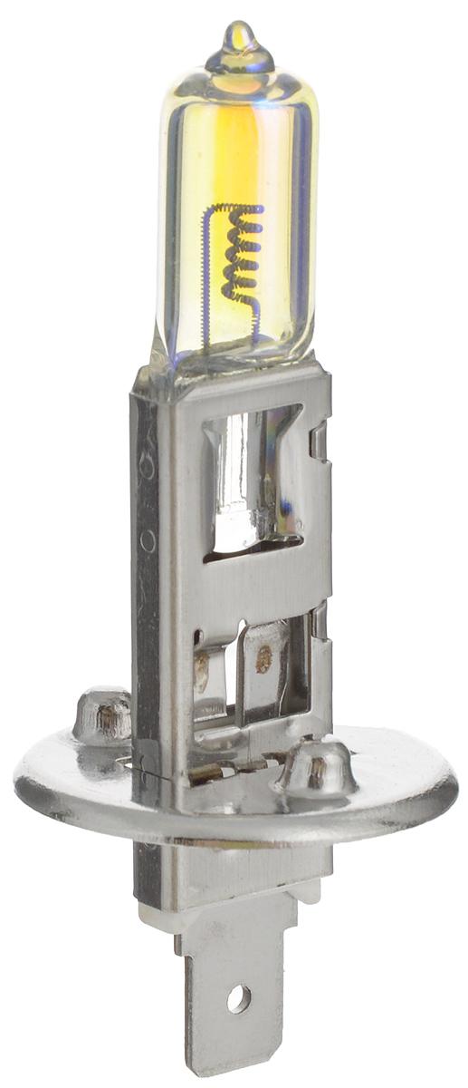 Лампа автомобильная галогенная Nord YADA Rainbow, всепогодная, цоколь H1, 24V, 70W902488Лампа автомобильная галогенная Nord YADA Rainbow - это электрическая галогенная лампа с вольфрамовой нитью для автомобилей и других моторных транспортных средств. Виброустойчива, надежна, имеет долгий срок службы. Галогенные лампы предназначены для использования в фарах ближнего, дальнего и противотуманного света. Колба с радужным нанесением (мыльный пузырь) обеспечивает водителям комфортное освещение и управление на дороге в любую погоду.
