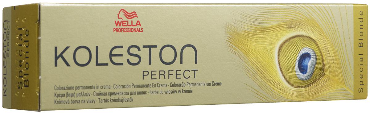 Wella Краска для волос Koleston Perfect, оттенок 12/81, Белое Золото, 60 мл81454362/81345725Wella KOLESTON PERFECT 12/81 белое золото предназначена для того, чтобы волосы обрели новый насыщенный и натуральный цвет, не страдая при этом. Новая разработка немецких ученых позволит сохранить хорошее внешнее состояние волос: блеск, упругость, отсутствие секущихся кончиков. Преимущество краски заключается в том, что она имеет минимальное количество вредных компонентов, а комплекс активных гранул защищает и укрепляет волосы. В составе также имеются липиды, которые придают волосам дополнительного объема без утяжеления. Молекулы и активатор играют не менее важную роль в составе. Они укрепляют корни волос, ведь именно они максимально нуждаются в питании и восстановлении. Краска имеет нежный аромат, который не вызывает аллергических реакций. Она хорошо подходит всем видам волос. Текстуру смешивают с эмульсией для достижения лучшего результата.