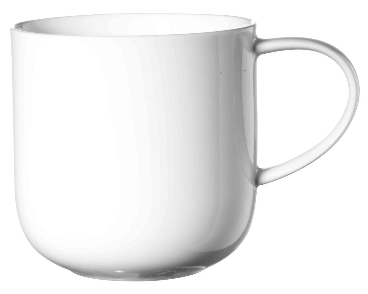 Чашка Asa Selection Coppa, 400 мл, цвет: белый. 19101/014VT-1520(SR)Чашка COPPA. Объем: 0,4 литра. Материал: фарфор. Цвет: белый.