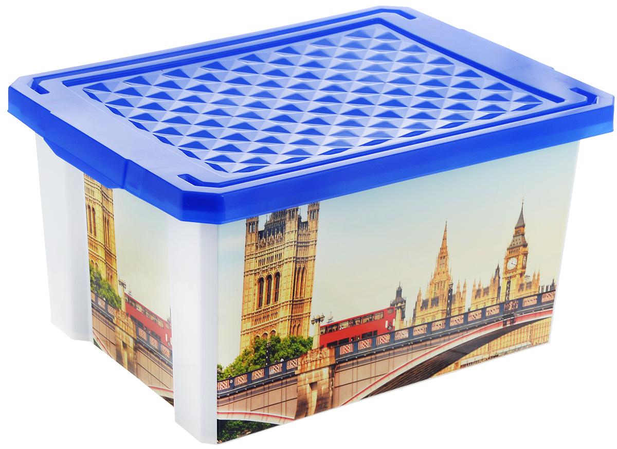 Ящик для хранения BranQ Optima. Англия, 17 лBQ2584АНГУниверсальный ящик для хранения BranQ Optima. Англия выполнен из прочного пластика и оформлен ярким принтом. Такой ящик - привлекательный элемент интерьера, а не просто функциональное изделие. Небольшой размер позволяет хранить мелкие предметы, детские игрушки, аптечку. Ящик оснащен крышкой и боковыми ручками для удобства переноски. Изделие поможет защитить нужные вещи от пыли, грязи и влаги.