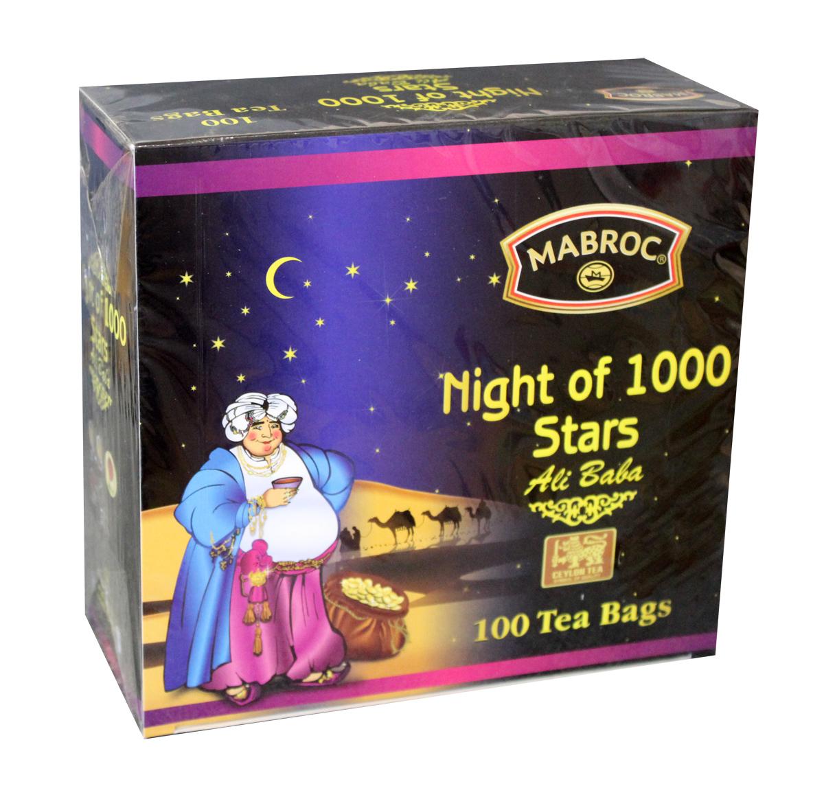 Mabroc Древние легенды. Ночь 1000 звезд чай черный в пакетиках, 100 шт4791029004778Коллекция «Древние легенды», Ночь 1000 звезд (1001 ночь). Эта коллекция является визитной карточкой Маброк и включает в себя наиболее престижные, известные и дорогие сорта. Это удивительный ассортимент чаев с плантаций Маброк, со вкусом, одновременно подходящим для сибирского климата и передающий изысканный вкус Востока. Смесь черного и зеленого чай с ароматом клубники, с цветами апельсина, ноготков, лепестками роз. Это превосходное сочетание черного чая, выращенного в низинных районах Сабарагамувы, и зеленого, растущего высоко в горах Нувара Элии. Прохлада ветров и солнечного тепло, которым ласково укутаны все растения этого района дарит чаю особенный сладкий вкус, усиленный клубничной вытяжкой, лепестками розы и ноготков.