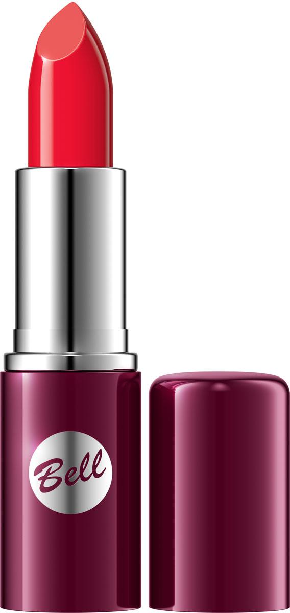 Bell Помада для губ Lipstick Classic 4,8 гр1301207Чтобы выглядеть сверхэлегантной, попробуйте помаду, которая придаст идеальную форму Вашим губам, окрашивая их в чистый, атласный и блестящий цвет. Формула, обогащенная питательными веществами и витаминами, подчеркнет аппетитность ваших губ, одновременно увлажняя и защищая их. Мягкая и бархатная текстура помады обеспечивает легкое скольжение, устойчивый пигмент сохраняет цвет на губах длительное время. Вы ощутите и увидите Ваши губы ухоженными и соблазнительными. Роскошная палитра из 30 тонов: от классических до супермодных для любого случая и настроения.Способ применения: Нанести на губы по контуру