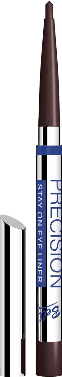 Bell Карандаш для глаз Устойчивый Precision Eye Liner 4 грB4koP005Автоматически, точно, идеально! Precision это изысканная коллекция автоматических контурных карандашей для макияжа глаз и губ. Нанесение точного контура теперь стало необычайно простым! Инновационные полимеры, входящие в состав, обеспечивают особую эластичность грифеля, что гарантирует точность и устойчивость нанесенных линий. Входящий в состав ланолин и специальный растительный воск ухаживает за нежной кожей век, а силиконовые микрошарики гарантируют мягкое и комфортное нанесение. Результат – идеальный устойчивый макияж, ошеломляющий своей красотой и чувственностью! Тон 5
